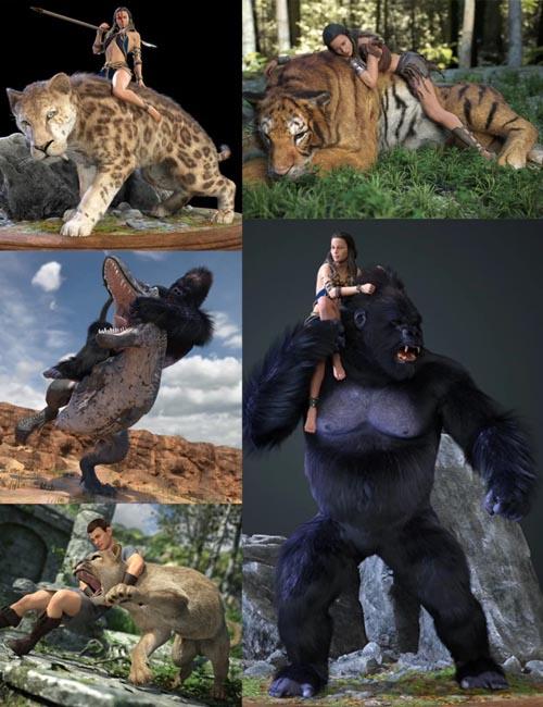 Wild Journey Poses Part 1