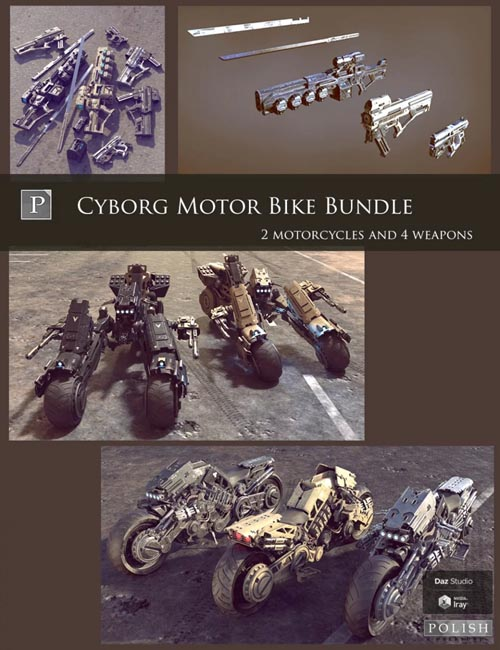 Cyborg Motor Bike Bundle