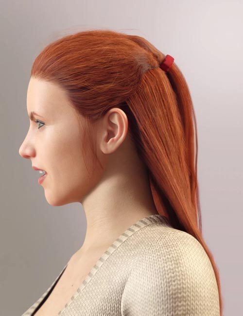 dForce Duchess Hair for Genesis 8 Female