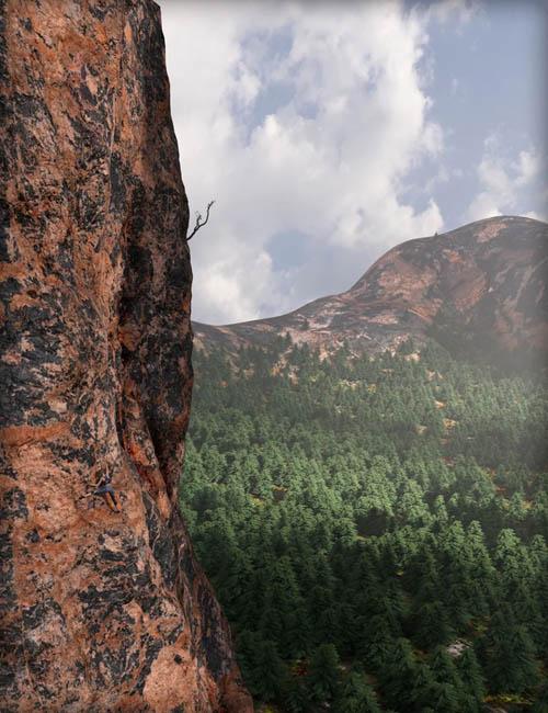 MDCH Granite Climbing Rock