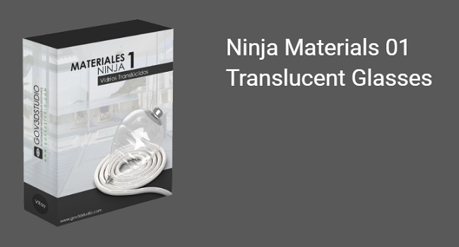 Vray Glass and Tinted Glass Materials Pack for 3ds Max