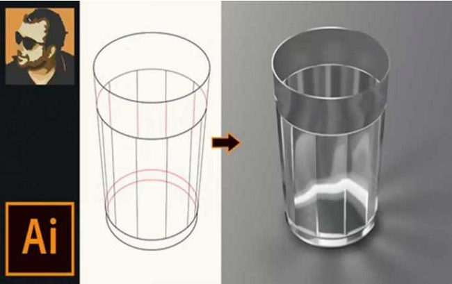 Udemy – How To Draw a Realistic Glass in Adobe Illustrator CC