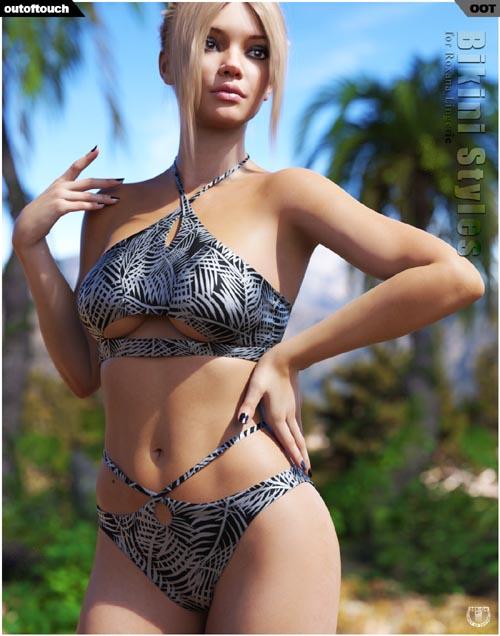 Bikini Styles for Roxana Lingerie for Genesis 8 Female(s)