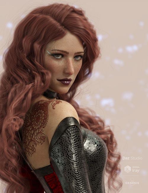 Ascelin for Genesis 8 Female