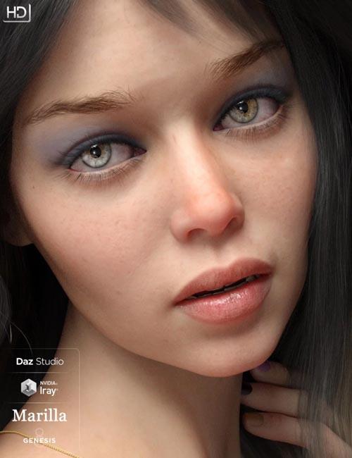 Marilla HD For Genesis 8 Female