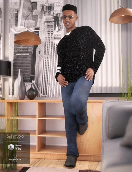 dForce Winston Avenue Outfit for Genesis 8 Male(s)