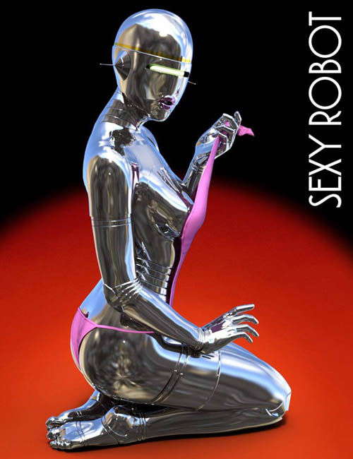 Sorayama's Sexy Robot For Genesis 3