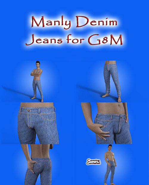 Manly Denim Jeans For G8M