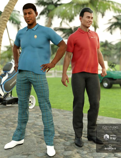 Casual Golf Outfit Textures