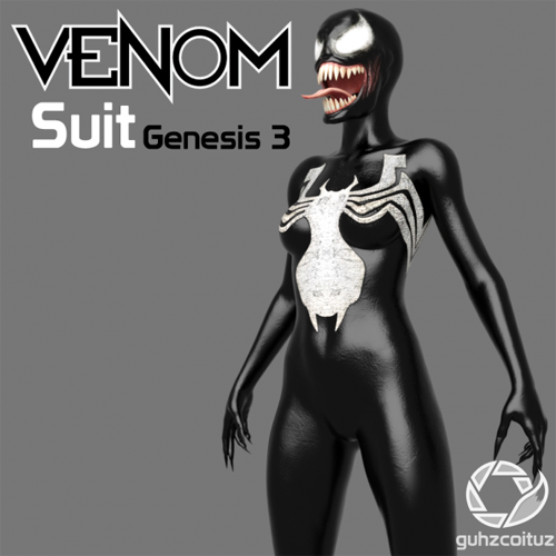 Venom Suit for Genesis 3