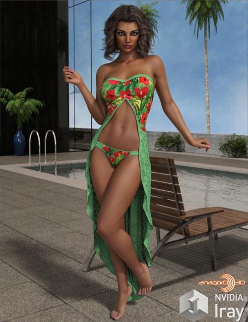 VERSUS - dForce Calypso Dress for Genesis 8 Females