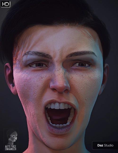 Auto Face Enhancer Genesis 8 Female(s) Bundle