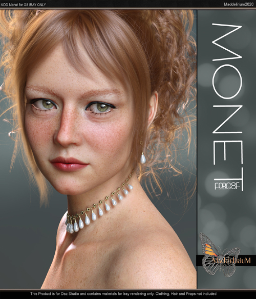 MDD Monet for G8F (IRAY ONLY)