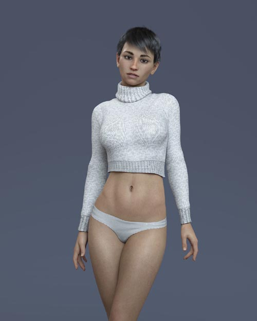 KrashWerks MARLENA for Genesis 8 Female