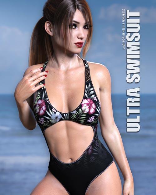 Ultra Swimsuit for Genesis 8 Females