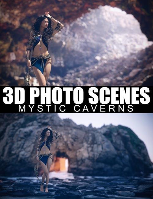 3D Photo Scenes - Mystic Caverns