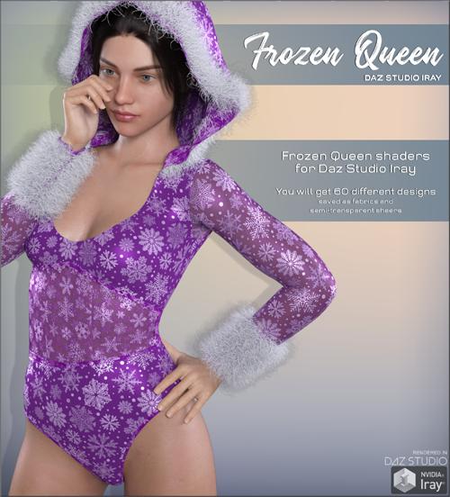 Daz Iray - Frozen Queen