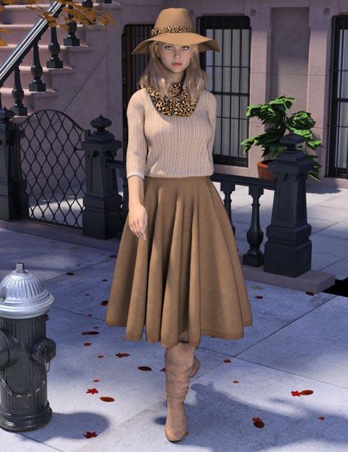 WD dForce Sophia Outfit for Genesis 8 Female(s)
