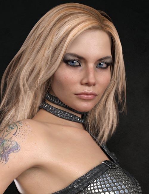 Remi HD for Genesis 8 Female