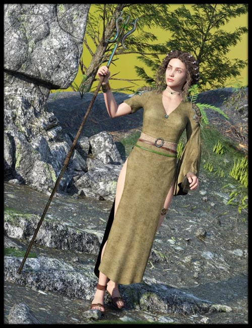dForce Cirth Outfit for Genesis 8 Female(s)