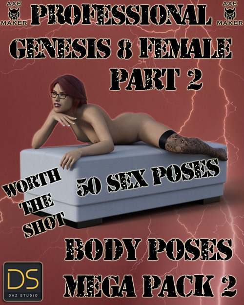 50 Professional Body Poses-Mega Pose Pack 2