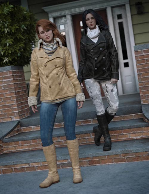 dForce Winter Trendy Outfit Add-On