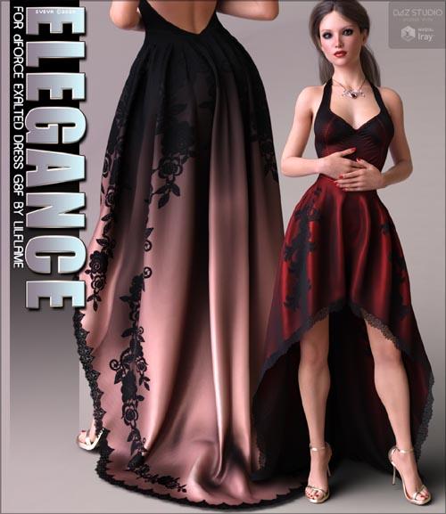 Elegance for dForce Exalted Dress
