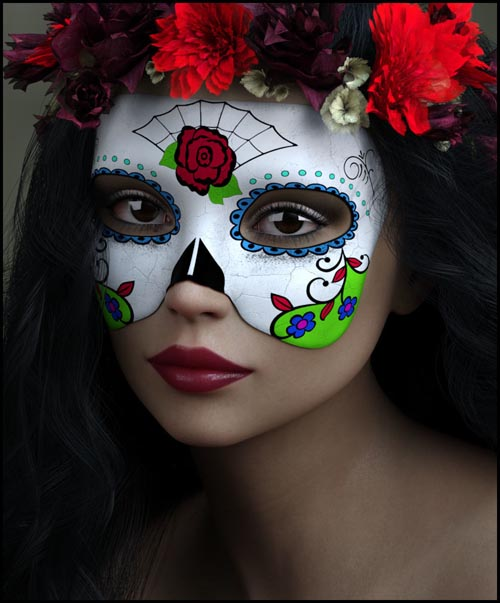 Painted Skin: Masks for G8F