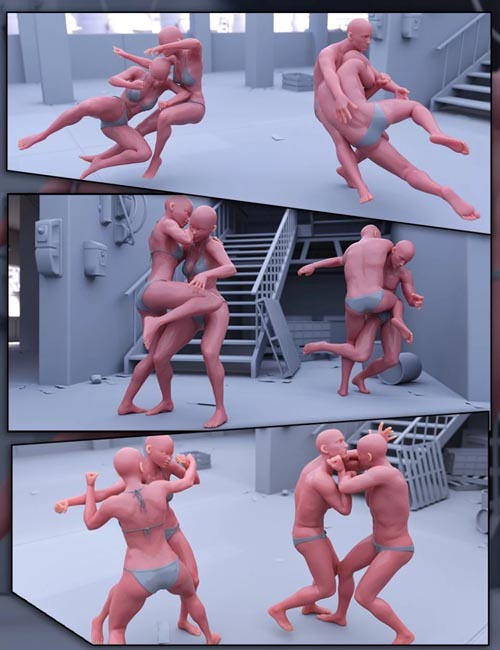 CS01: Fighting Poses for Genesis 8