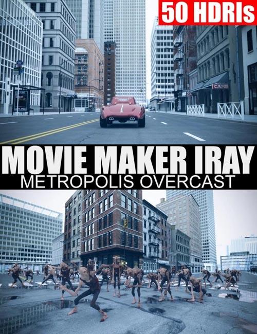 50 HDRIs - Movie Maker Iray - Metropolis Overcast