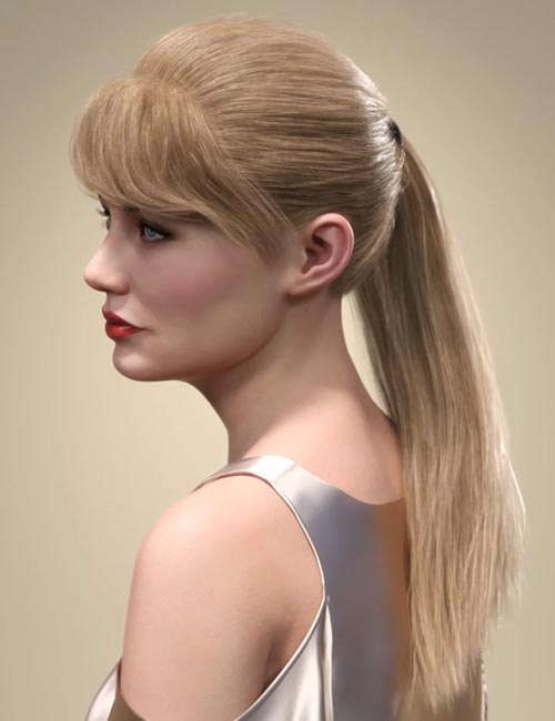 SP Hair 008 for Genesis 3 and 8 Female(s)