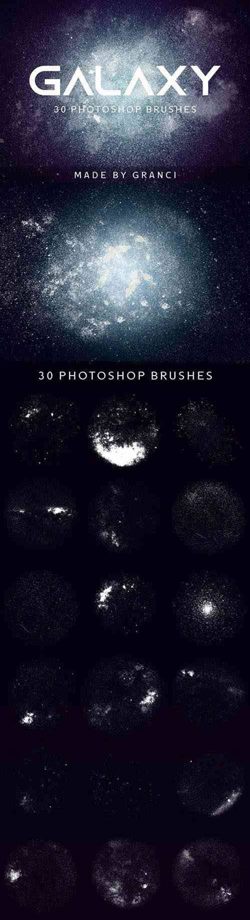 Galaxy Photoshop Brushes 25652362