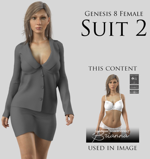 Suit 2 for Genesis 8 Female