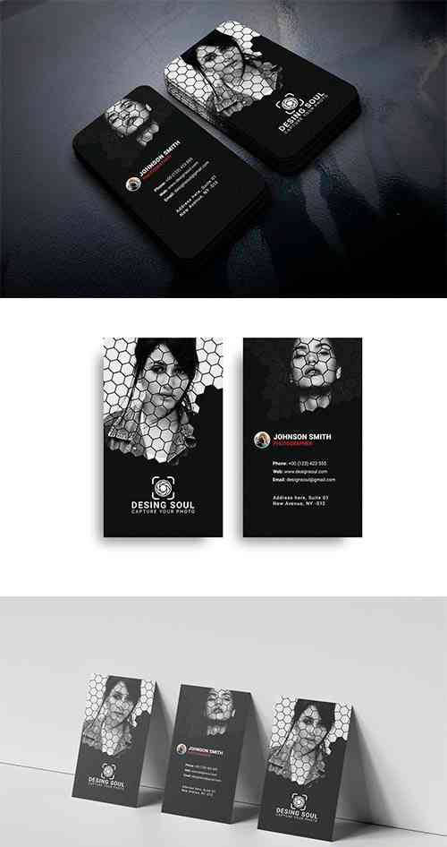 Photography Business Card Template 4505544