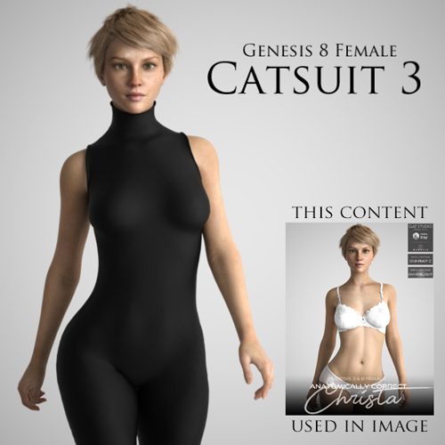 Catsuit 3 for Genesis 8 Female