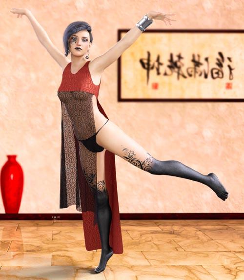 Lishita Outfit Genesis 8 Female