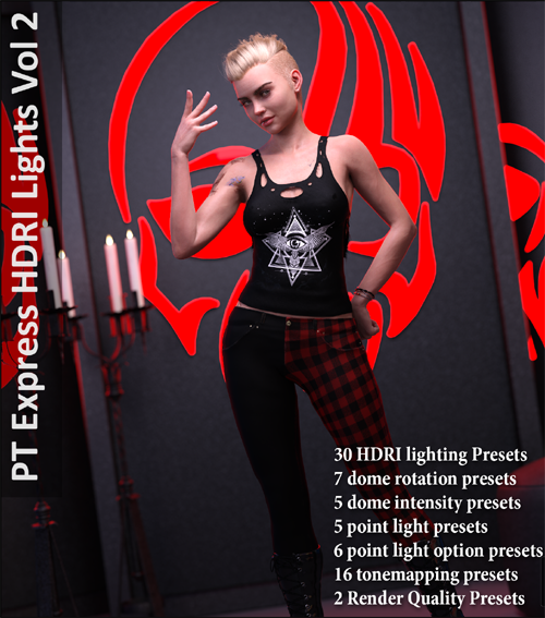 Paper Tiger's Express HDRI Lighting Vol. 2