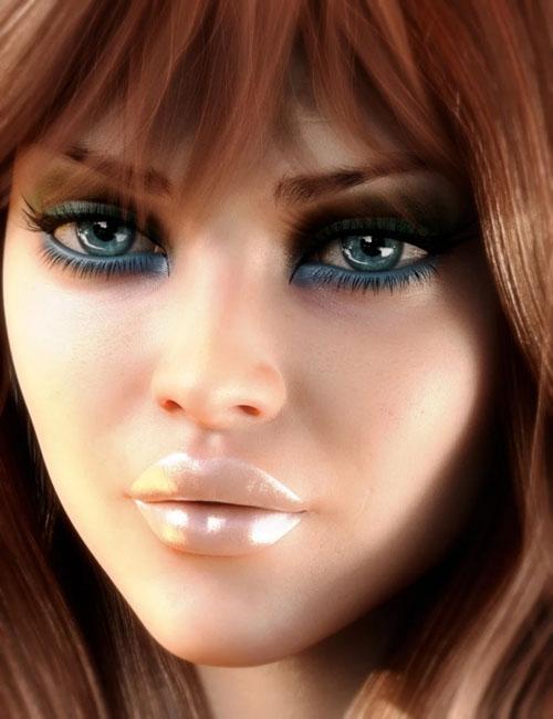 LIE Make-up Set 2 for Genesis 8 Female