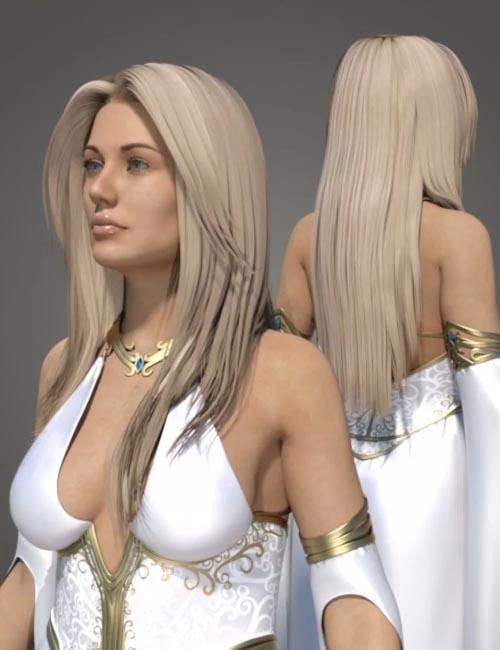 Ethereal Goddess Hair for Genesis 8 Female(s)