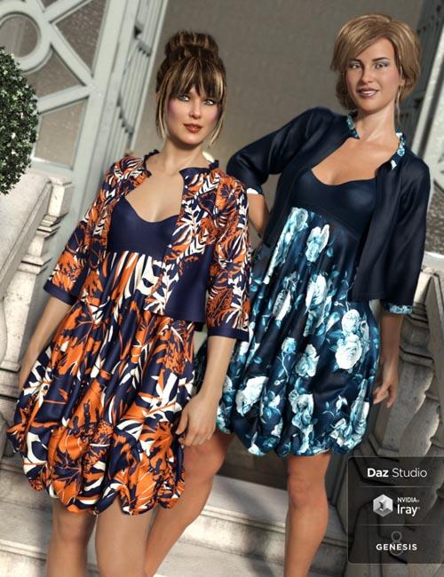 dForce Boho Layers Bubble Dress Sophisticated