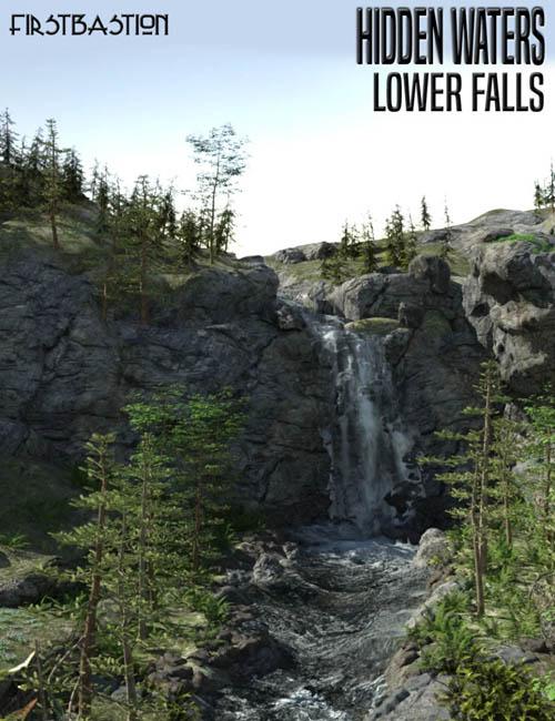 1stB Hidden Waters Lower Falls