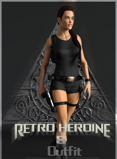Retro Heroine 8 Outfit