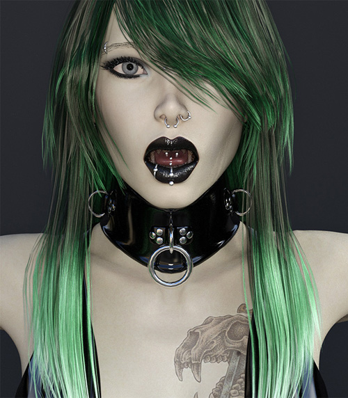 Genesis 3 Female Posture Collar