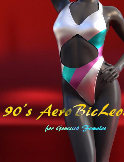 90's AerobicLeotard for Genesis8 Females