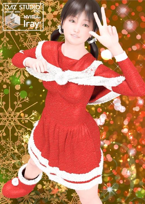 dForce Santa Dress 01 For G8F