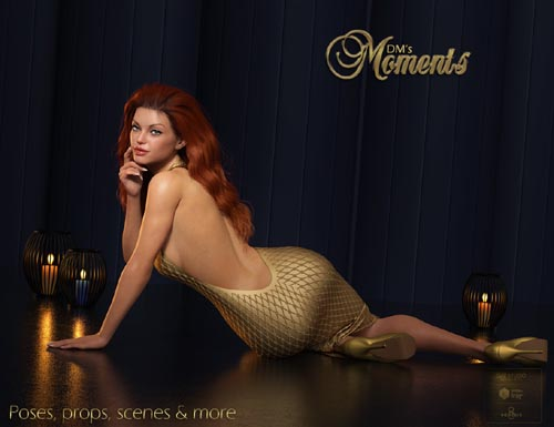 DMs Moments for Genesis 8 Female