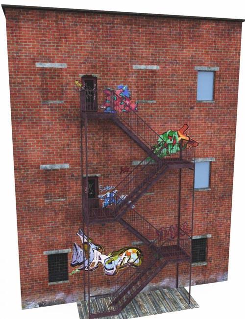 Graffiti Stairs