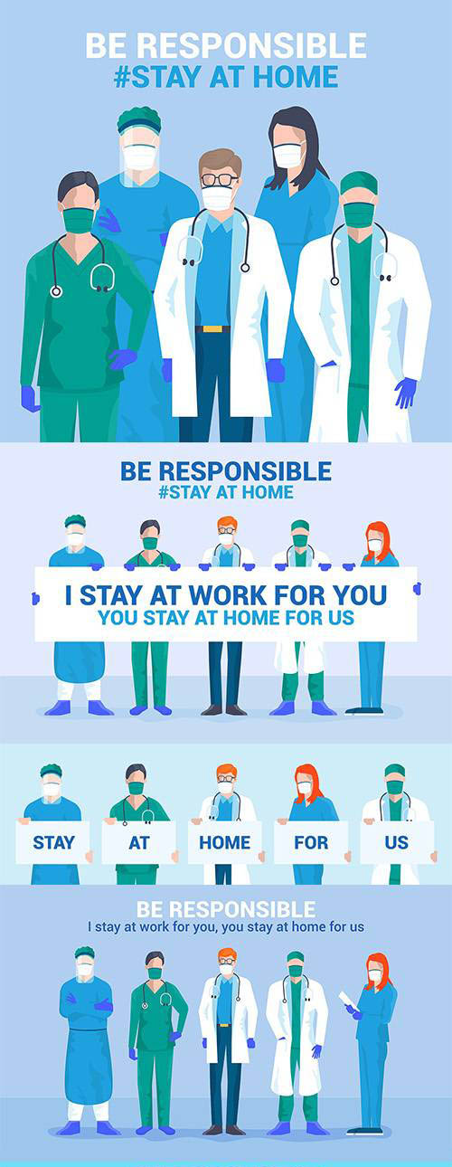 Be Responsible, stay at home campaign