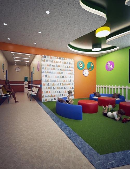 Pediatric Clinic Waiting Area