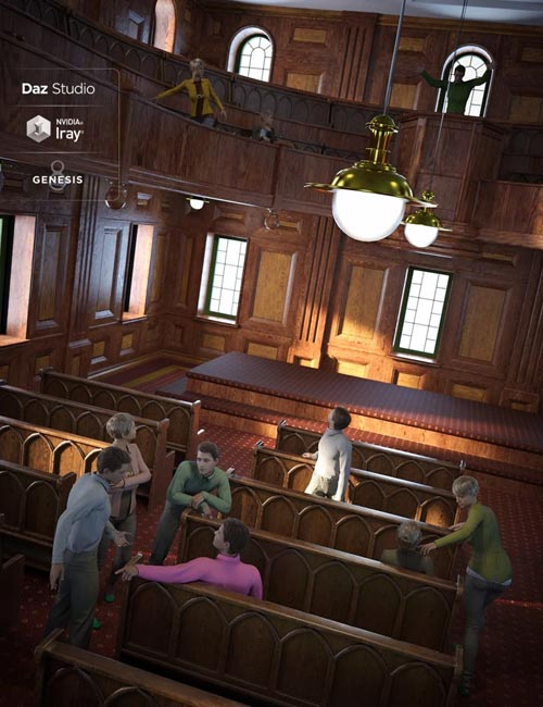 The Meeting Lodge Poses for Genesis 8